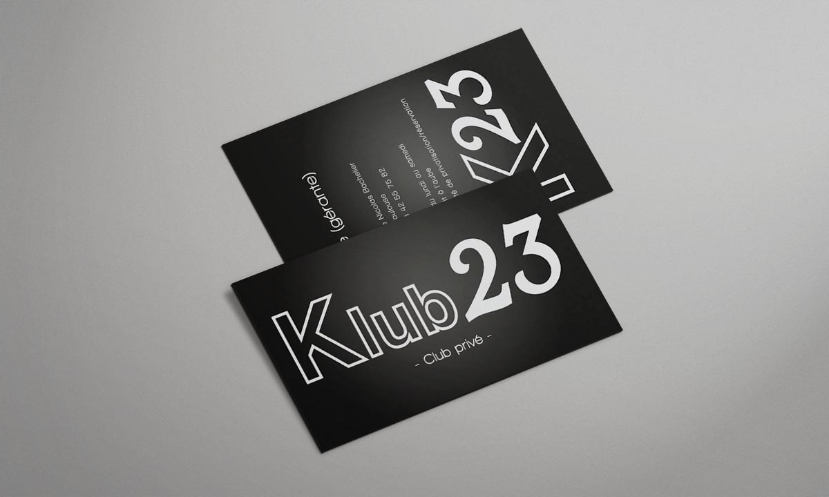 Logo Carte De Visite Klub23